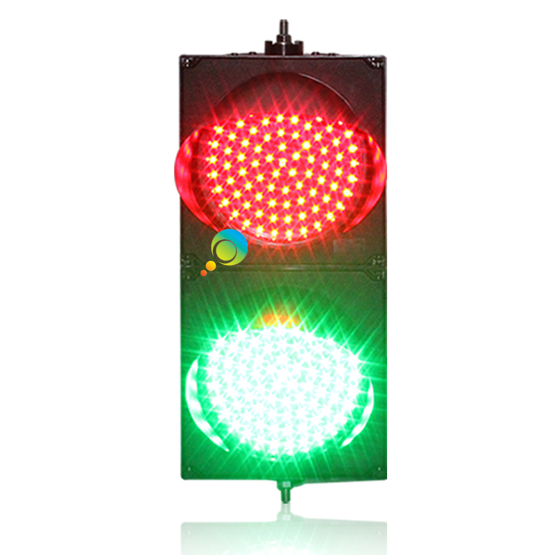 DC12V Factory Direct Price High Quality 200mm 8 Inch  Crossing Road LED Traffic Signal Light