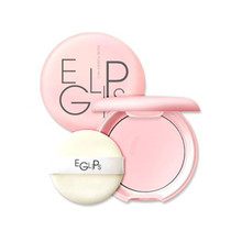 EGLIPS Glow Powder Pact 8g Loose Powder Makeup Foundation Primer Finishing Powder Waterproof Cosmetic For Face Beauty Make up