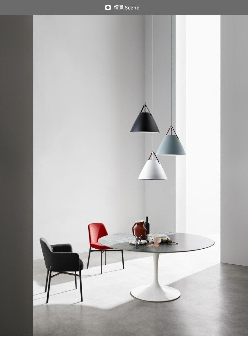 minimalist chandelier