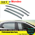 AUTO PRO Windows visor car styling Awning Shelters Vent Rain Sun Shield Window Visors For Ford Mondeo Fusion 5 2013 2014 2015 Co