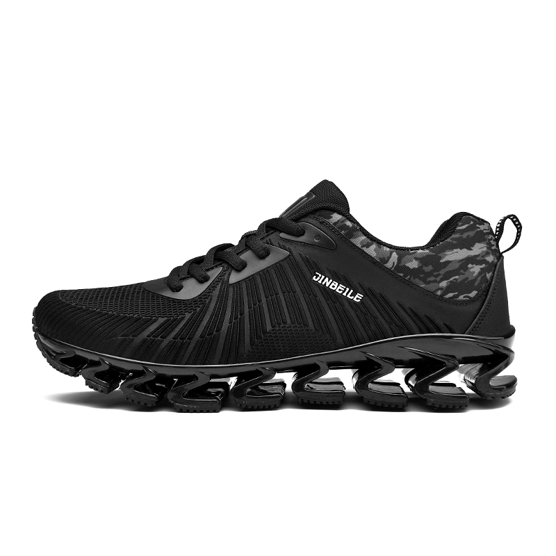 0596c5d34 JINBEILE Sneakers Men Road Running Jogging Walking Sports Shoes  High-Quality Lace-Up Athietic Breathable Mesh Male Sneakers