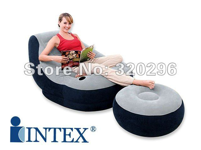 High Quality Inflatable Couch Sofa Set/ Intex-68564