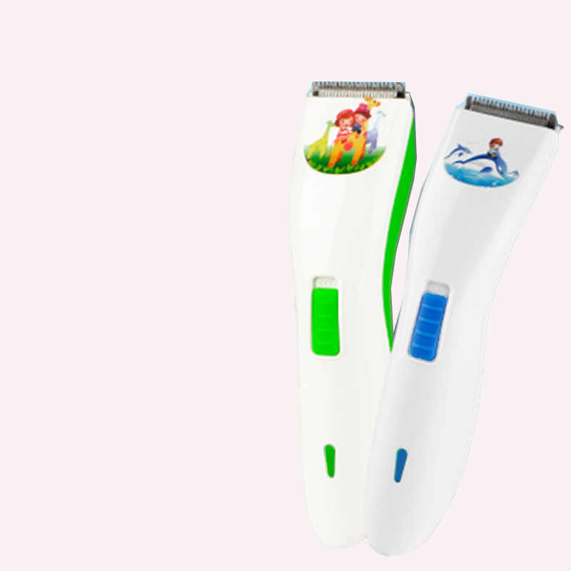 2018 Sale Children's Hair Trimmers Clipper Silent Electric Rechargeable High Efficiency Mute Two Colors Four Modes Optional