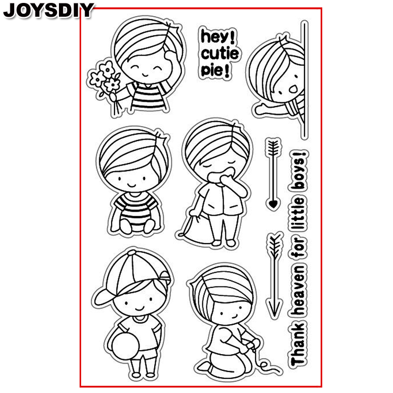 HEY CUTE PIE THANK FOR BOY Scrapbook DIY photo cards account rubber stamp clear stamp transparent stamp Handmade card stamp you can shine got bot all boy scrapbook diy photo cards account rubber stamp clear stamp transparent stamp handmade card stamp
