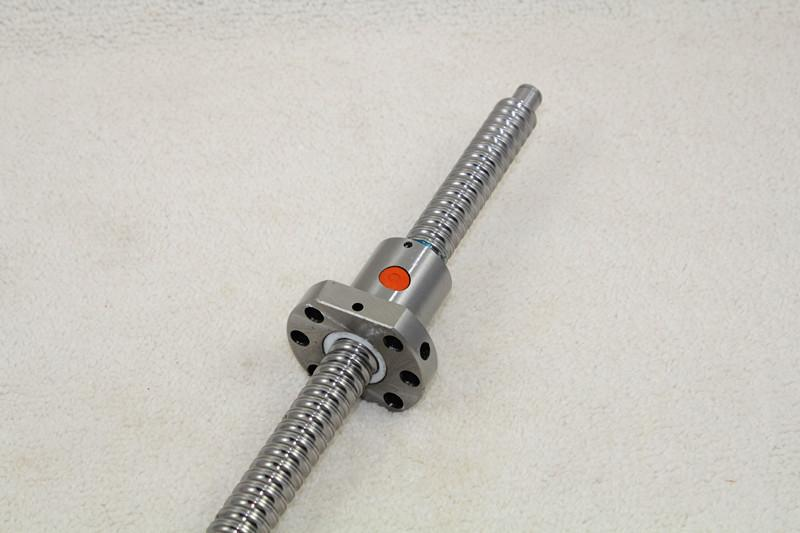 Free shipping 1set RM1204-300mm +61mm(machining part) ball screw guide + 1sets FK10/FF10