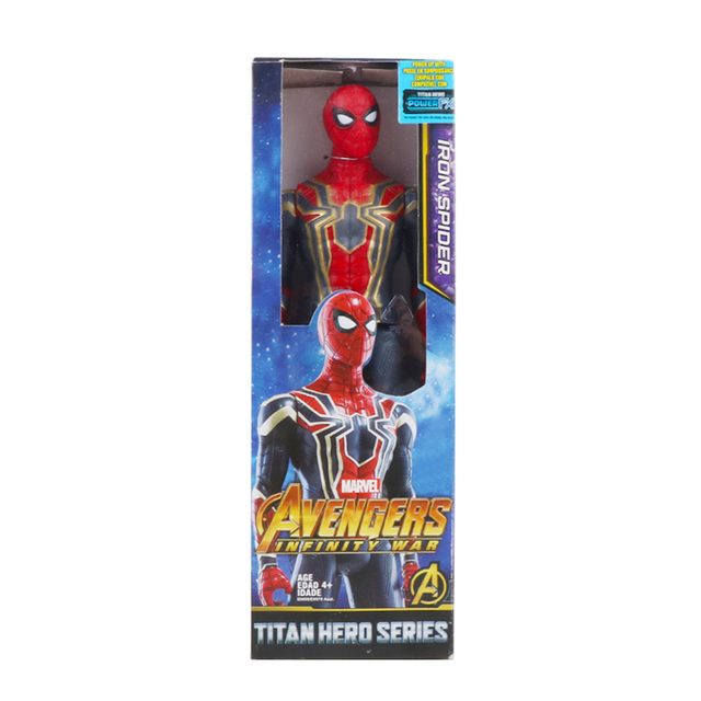 spiderman with box 1