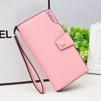 2017 New Design Fashion Multifunctional Purse Leather Wallet Women Long Style Card Purse Wholesale And Retail