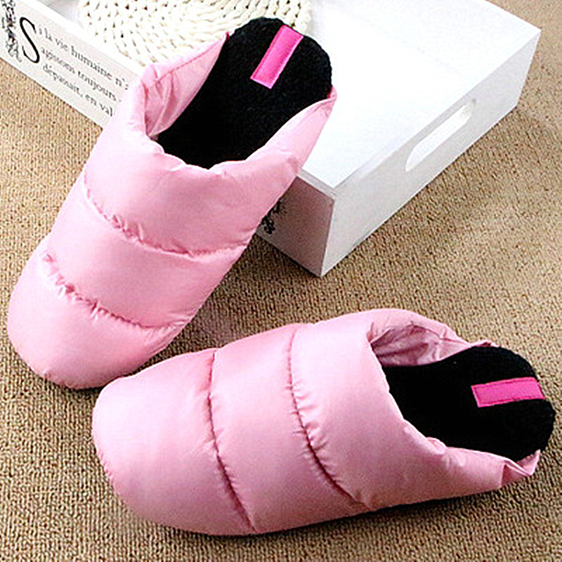 Designer Winter Women Slippers Female Soft Down Warm Plush Slippers Home Floor Bedroom Indoor Female Shoes Zapatos Mujer designer fluffy fur women winter slippers female plush home slides indoor casual shoes chaussure femme