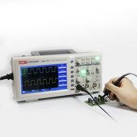 Бесплатная доставка, 2CH 100 МГц цифровой осциллограф UTD2102CEX
