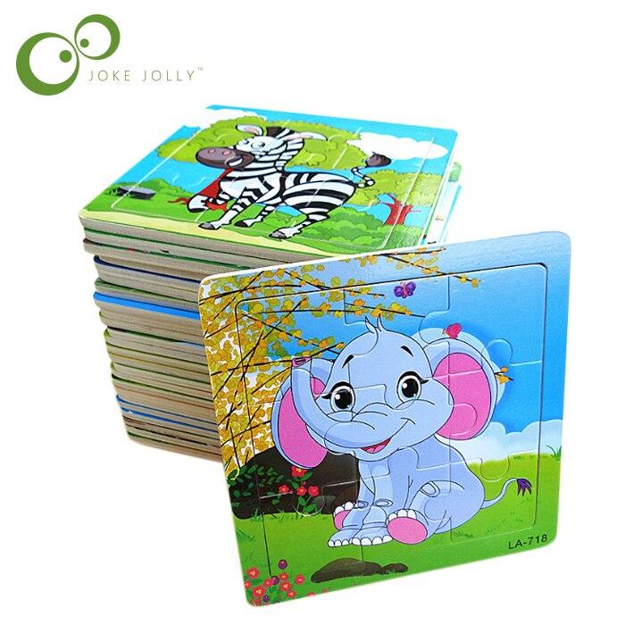 Rätsel & Spiele Supernova Vertrieb Puzzle Holz Kleine Stück Kid Spielzeug Kind Holz Puzzles Pädagogisches Spielzeug Für Kinder Puzzles Freies Verschiffen