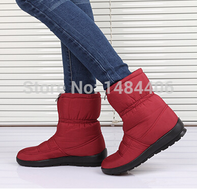 Aliexpress.com : Buy Waterproof non slip snow boots Winter women ...