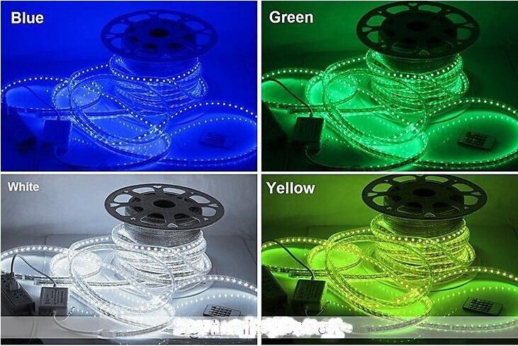 Fabriek directe verkoop Waterdichte Touw licht voor outdoor 5050 band tuin licht Boom Kerstverlichting RGB controller Strip