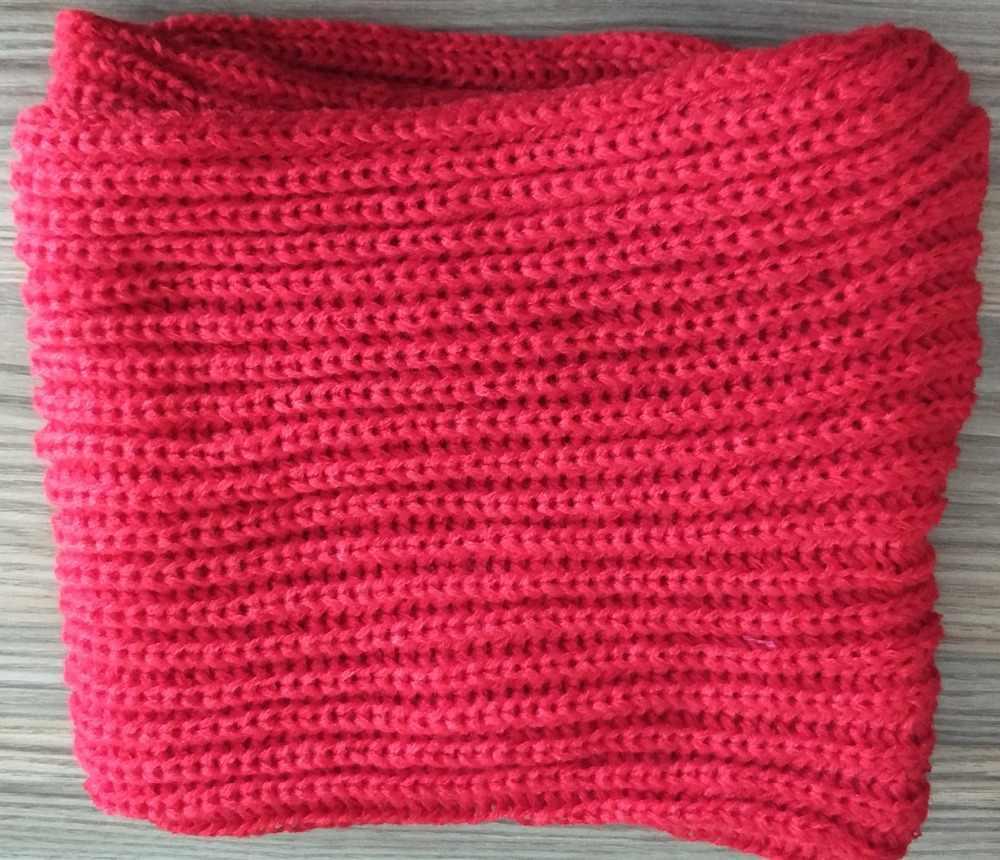 Dzieci szalik zima dzianiny miękkie, ciepłe światło-waga czerwony niebieski koło pierścień szaliki Slouchy dla dzieci szalik okłady chłopcy dziewczęta dla dzieci