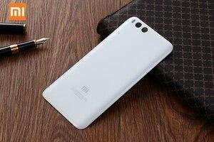 Image 5 - Original Glas Batterie Hinten Fall Für Xiaomi 6 Mi 6 Mi6 MCE16 Zurück Batterie Abdeckung Telefon Batterie Backshell Zurück Abdeckung fällen