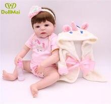 DollMai Bebe reborn réel poupées 22