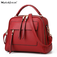 Europe Style High Quality Women Designer PU Tote Bag Handbag Classic Solid Color Ladies Vintage Crossbody