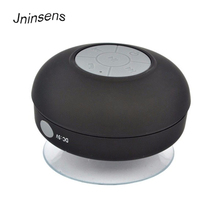 Mini Portable Subwoofer Shower Wireless Waterproof Bluetooth Speaker Handsfree Receive Call Music Suction Mic For iPhone