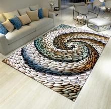 3D living room tea table carpet bedside rectangular bathroom kitchen door mattress customizable free shipping