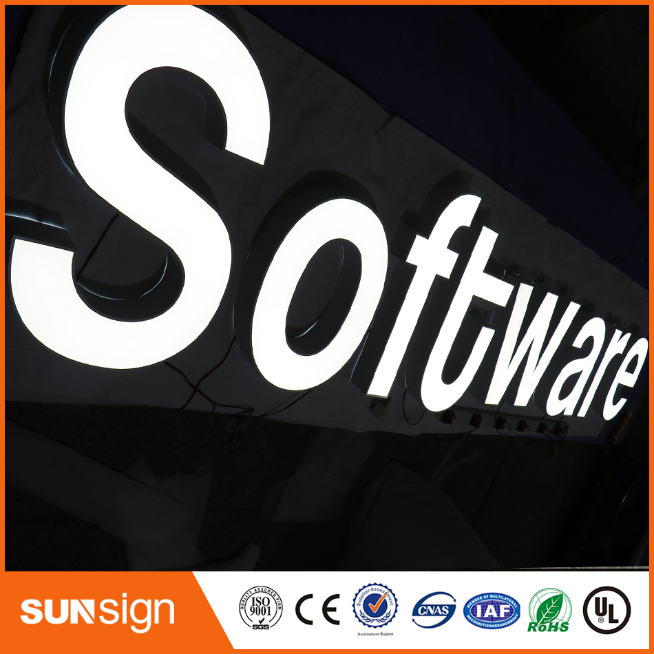 High Bright Frontlit 3d Led Letter Sign, Letter, Led Letter