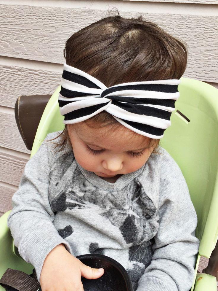 Bebés cabeza ganchillo bandas elásticas del pelo trenzado nudo ...