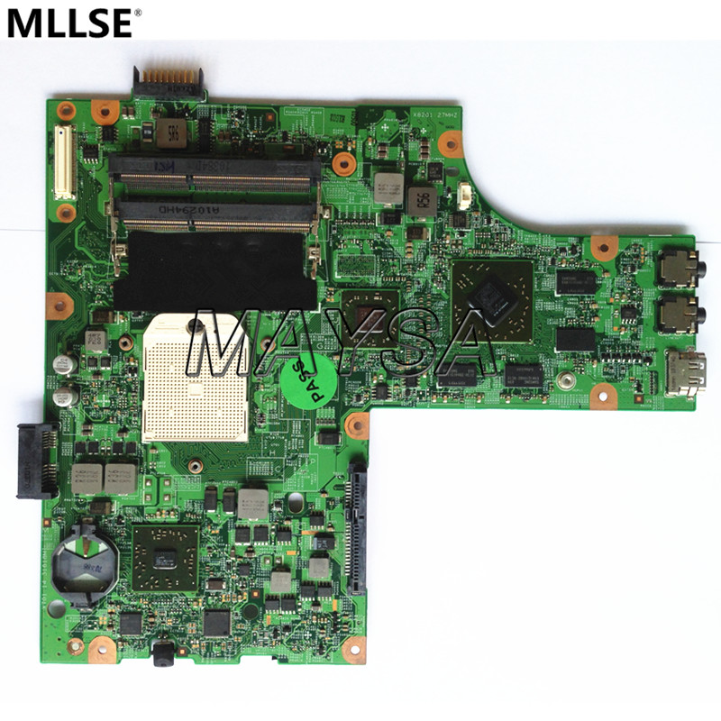 Mainboard FIT for DELL Inspiron 15 M5010 Laptop Motherboard s1 DDR3 HD4650  HNR2M 0HNR2M ноутбук dell inspiron 3567