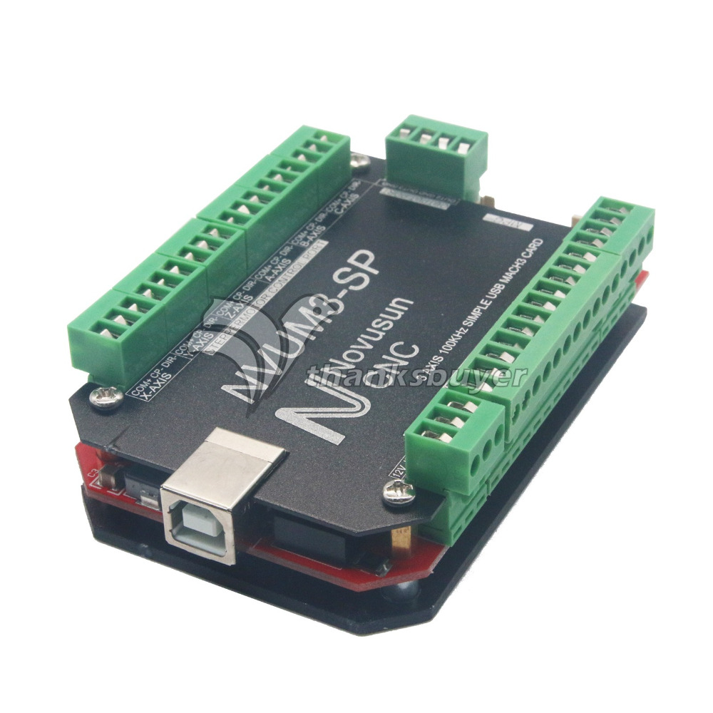 USBMACH3 Interface Breakout Board Card 3 Axis 4 Axis 5 Axis 6 Axis Controller CNC 100KHz