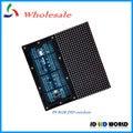 P8 DIP full color outdoor waterproof led screen modules 256*128MM 32*16pixels HUB75 1/4 scan