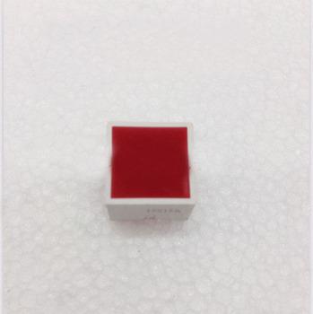 Bezpłatny statku brand new 100 sztuk 15*15mm czerwona płaska tubka czerwony cyfrowy w kształcie tuby factory direct price tanie i dobre opinie custom-souring Indoor