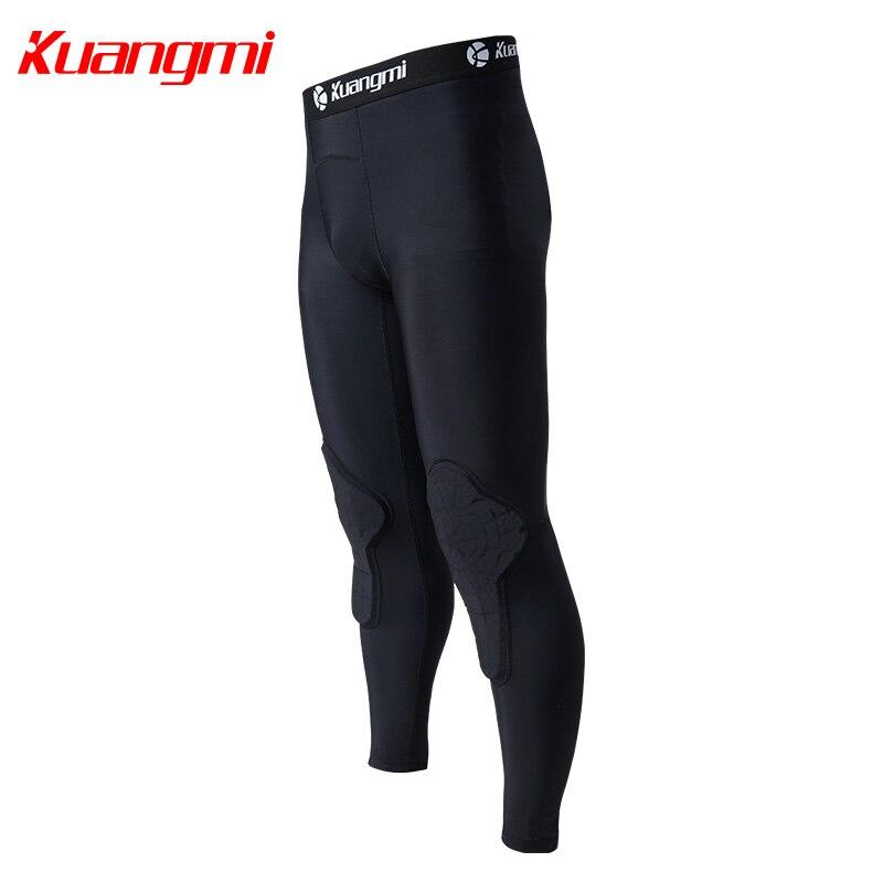 Kuangmi Uomini Palestra Abbigliamento Sportivo di Fitness di Compressione di Calzamaglie Abiti Corsa e Jogging Sport Da Jogging T Shirt e Pantaloni Set Vestiti - 4
