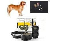 Hond Opleiding Kraag 998D 300 M LCD 100LV 300 Yard Niveau Elektrische Shock Vibratie Remote zonder Batterij & Retail pakket
