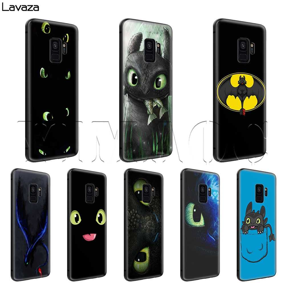 Lavaza Toothless How to Train Your Dragon Case for Samsung Galaxy S6 S7 Edge J6 S8 S9 S10 Plus A3 A5 A6 A7 A8 A9 Note 8 9