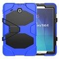Armadura de borracha resistente robusto impacto híbrido com Kickstand para Samsung Galaxy Tab 9.6 '' polegadas Tablet T560 T561