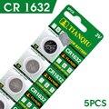 AE батарея Кнопки 5 Шт. 3 В CR1632 Литиевыми Клетки Кнопки Батареи DL1632 LM1632 ECR1632 BR1632 EE6224 56% off