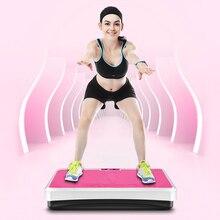 Машина для похудения дистанционно управление сжигание жира мышцы массажер вибрационная доска похудения вес потери оборудование для фитнеса HWC