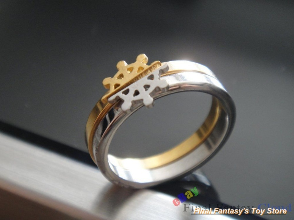 one piece anime wedding rings bands - Anime Wedding Rings