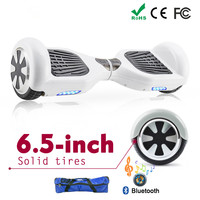 White Hoverboard Scooter Electric Moped 2 Wheel Balance Board Electric Skateboard Wheels Hoverboard 6 5 8