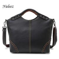 Vintage Ladies Handbag Genuine Leather Bag Luxury Handbags Women Bags Designer Crossbody High Quality Brand Classic