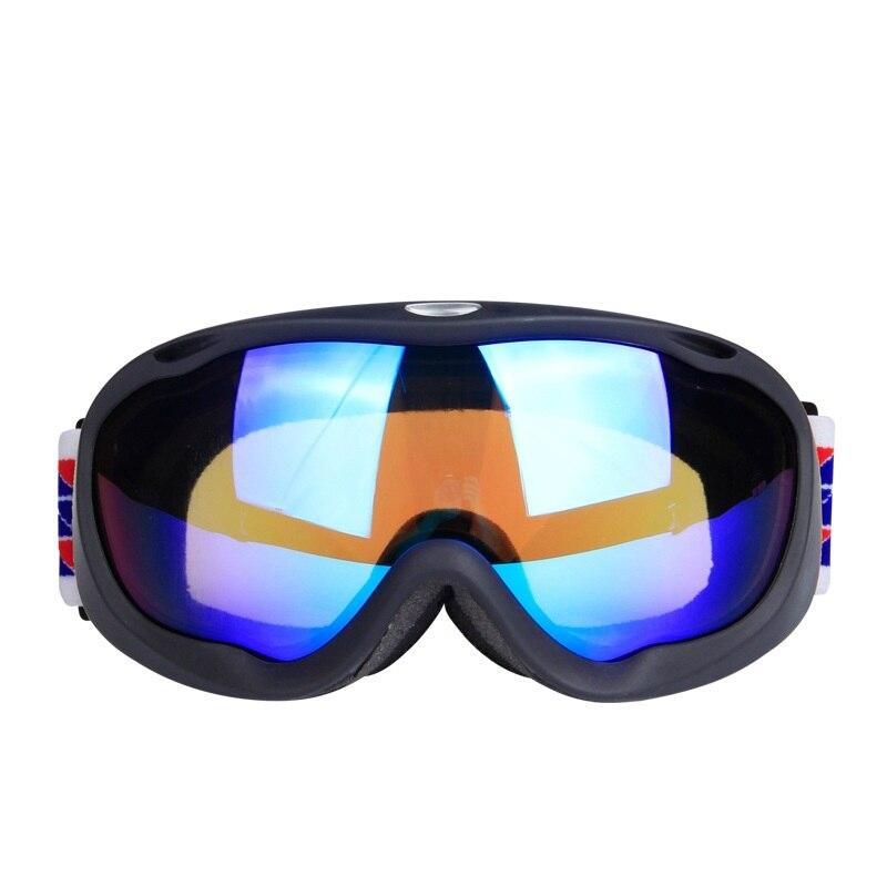 Prix pour Haute Qualité Double Couche Anti Brouillard 100% UV Protection Coupe-Vent Lunettes de Ski Ski Lunettes de Neige Eye-porter Snowboard Lunettes