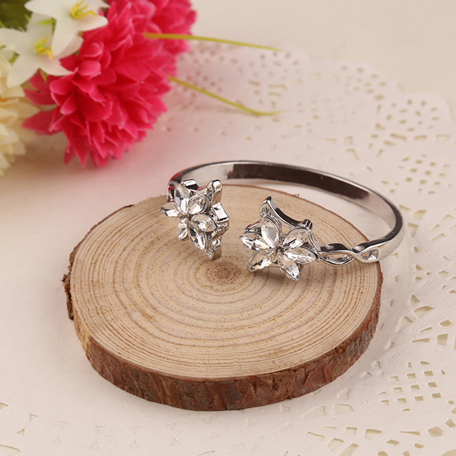 Film Lotr Arwen Evenstar strass cristal alliage Bracelets femmes bijoux réglable bracelet ouvert Bracelets