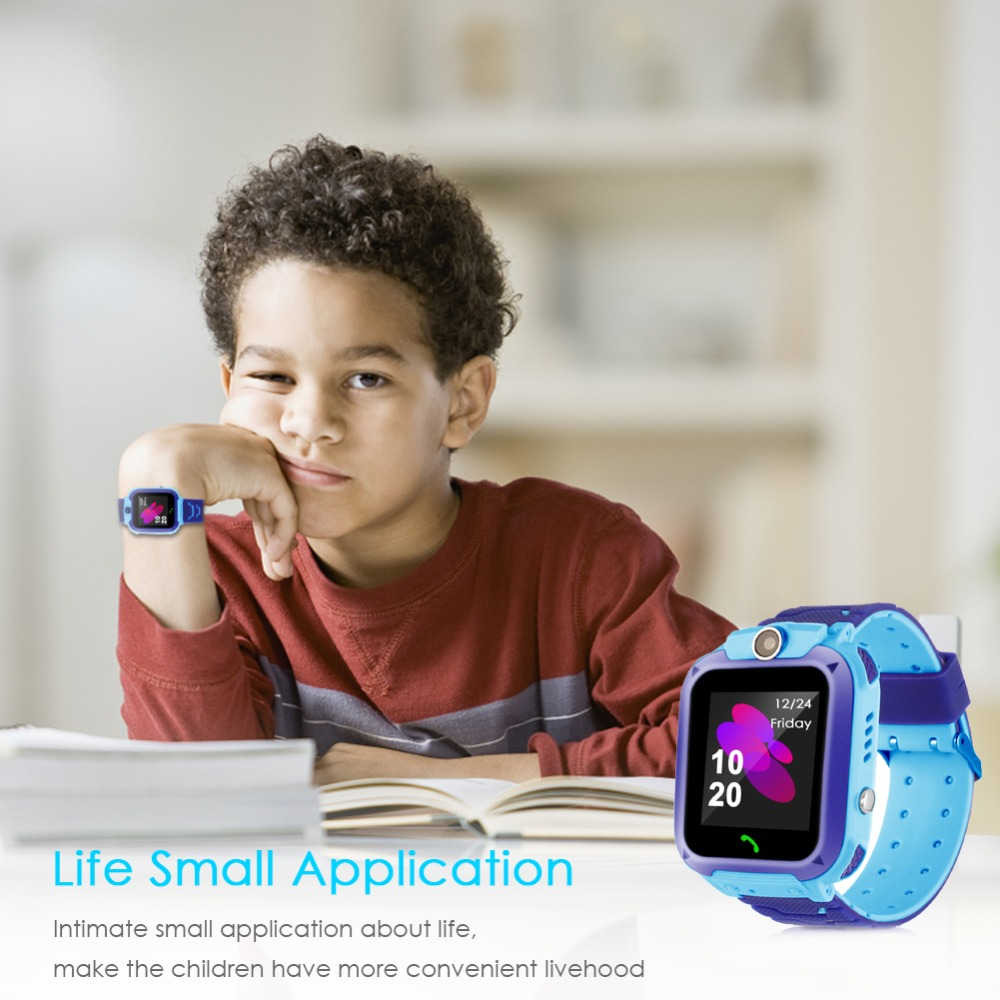 High Quality Newest Waterproof Tracker Smart Kids Child Watch Anti-lost SOS Call Smart Watch For iOS Android 23