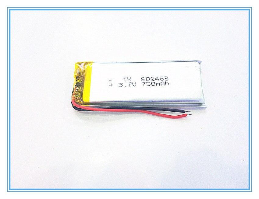602463 Freies Verschiffen 3,7 V Mp3 Plib; Polymer Lithium-ion/li-ion Batterie Für Dvr Mp4 750 Mah, Gps Handy Lautsprecher Mit Den Modernsten GeräTen Und Techniken
