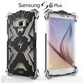 Simon teléfono del metal de aluminio case para samsung galaxy s6 edge plus bolso del teléfono case heavy armor case para samsung 6 edge plus cubierta
