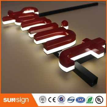 China factory supply 3d led letter led backlit letter - Category 🛒 All Category
