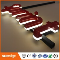 China Factory Supply 3d Led Letter Led Backlit Letter