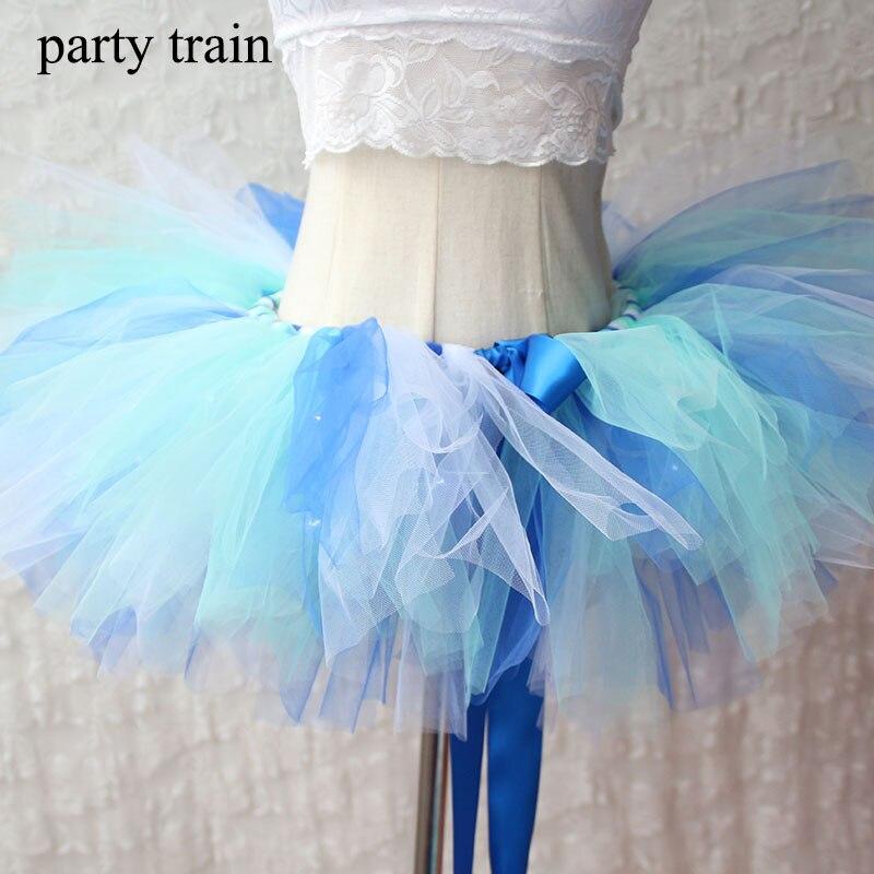 Tüll Tutu Rock Sexy Mini Phantasie Erwachsene Petticoat Fluffy Mesh - Damenbekleidung - Foto 2