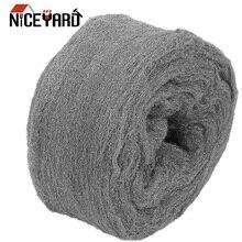 NICEYARD Очистка Стекла не осыпается 4,5 м 0000# класс стальной проволоки шерсти пылеочиститель для полировки очистки