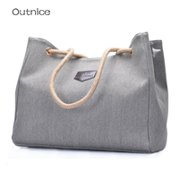 High Grade Canvas Women Handbags Famous Brand Kabelky Totes Big Ladies Hand Bags Female Shoulder Book