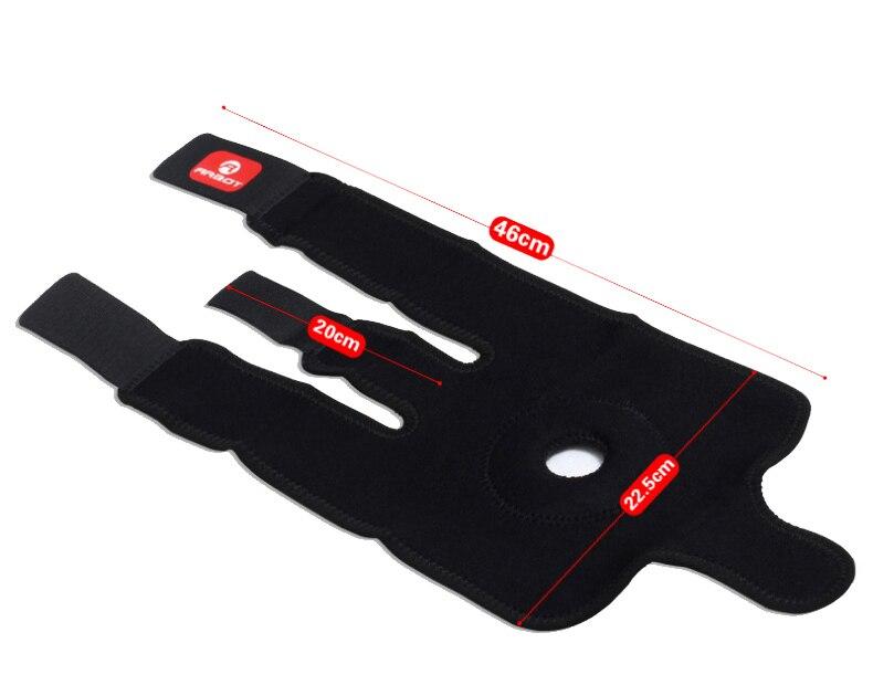 Arbot alta qualidade patella joelheiras futebol vôlei de basquete preto durável joelho shin protetor almofada guarda joelheira preto