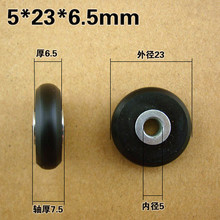 Free shipping 10pieces/lot Sliding Door RollerDoors and windows drawer printers other small production of wheels
