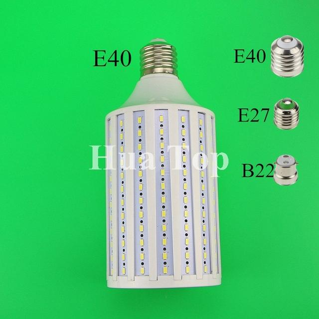 1 pcs lampada 80 W CONDUZIU a Lâmpada Lâmpadas 5730 SMD E27 B22 E40 216 LEDs Warm white Corn Lâmpada Pingente Iluminação AC85-265V Teto de milho luz